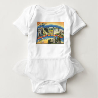 Greetings from Idaho Baby Bodysuit