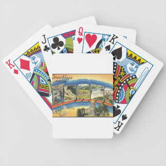 Greetings from Idaho Bicycle Playing Cards