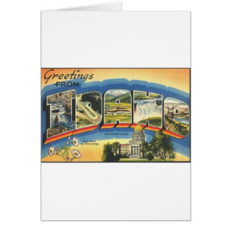 Greetings from Idaho Card