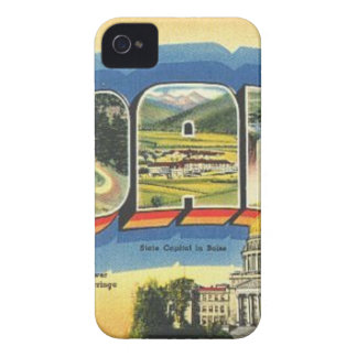 Greetings from Idaho Case-Mate iPhone 4 Cases