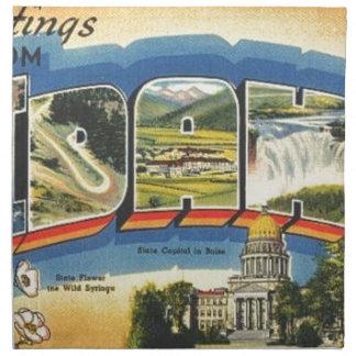 Greetings from Idaho Napkin