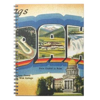 Greetings from Idaho Notebook