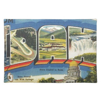 Greetings from Idaho Placemat