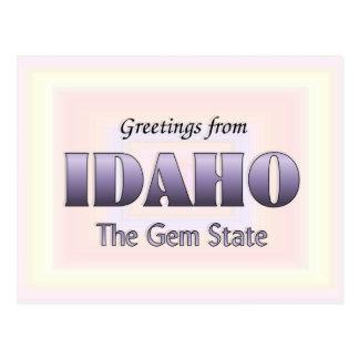 Greetings from Idaho Postcard