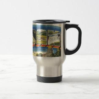 Greetings from Idaho Travel Mug