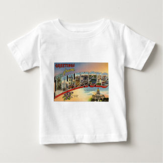 Greetings From Illinois Baby T-Shirt