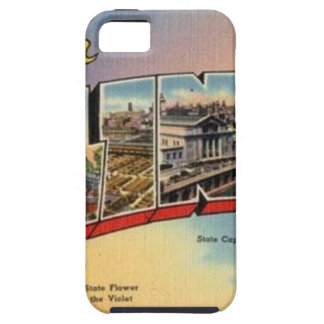 Greetings From Illinois iPhone 5 Cover