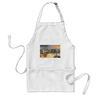 Greetings From Illinois Standard Apron