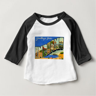 Greetings From Indiana Baby T-Shirt