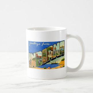 Greetings From Indiana Coffee Mug