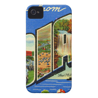 Greetings From Indiana iPhone 4 Covers