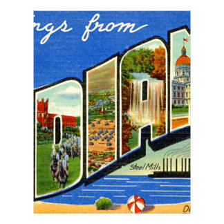 Greetings From Indiana Letterhead
