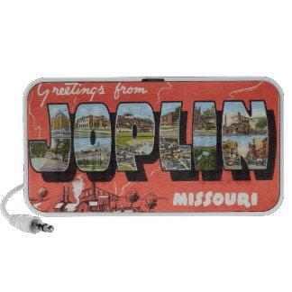 Greetings from Joplin Speaker