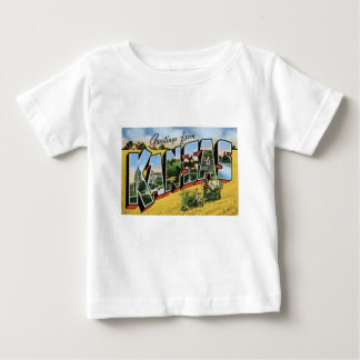 Greetings from Kansas Baby T-Shirt