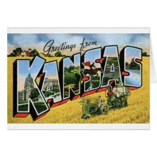 Greetings from Kansas Card