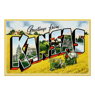 Greetings from Kansas Poster