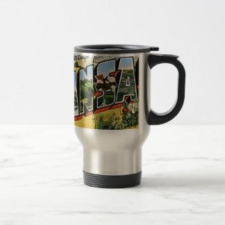 Greetings from Kansas Travel Mug