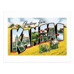 Greetings from Kansas! Vintage Post Cards