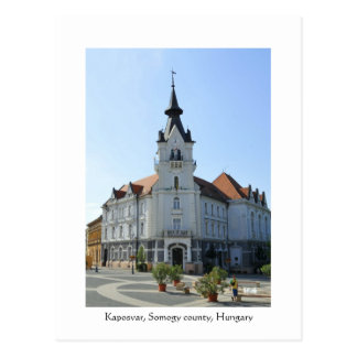 Greetings from Kaposvar, Hungary Postcard