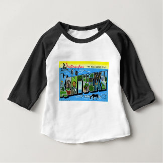 Greetings From Kentucky Baby T-Shirt