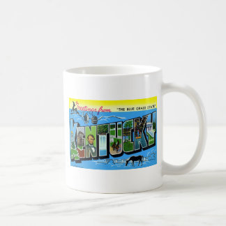 Greetings From Kentucky Coffee Mug