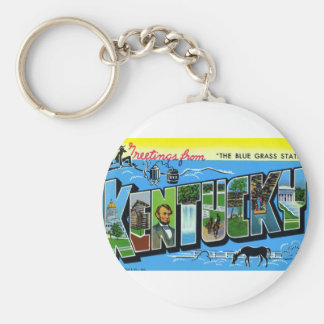 Greetings From Kentucky Keychain