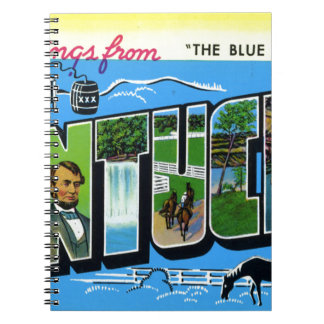 Greetings From Kentucky Notebooks