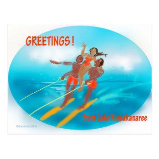 Greetings from Kissakanaree Postcard