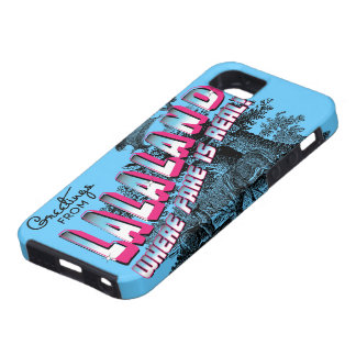Greetings from LALA Land - where fake is real iPhone 5 Case