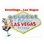 Greetings from Las Vegas Nevada Post Card