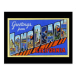 Greetings from Long Beach California Postcards