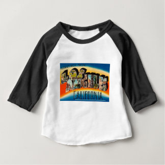 Greetings From Los Angeles Baby T-Shirt