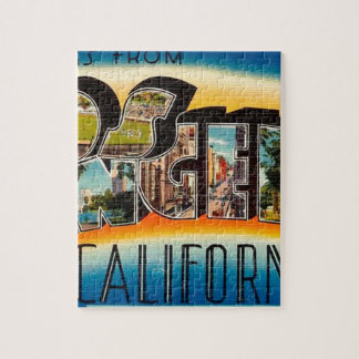 Greetings From Los Angeles Jigsaw Puzzle