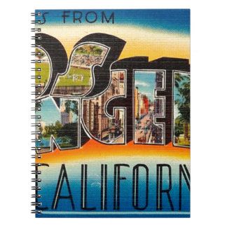 Greetings From Los Angeles Notebook