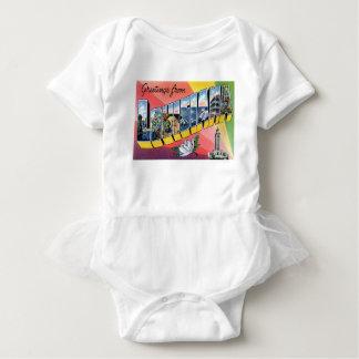 Greetings From Louisiana Baby Bodysuit