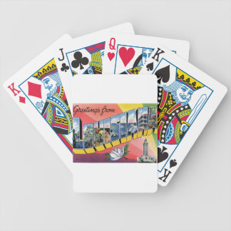 Greetings From Louisiana Bicycle Playing Cards