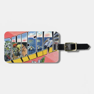 Greetings From Louisiana Luggage Tag