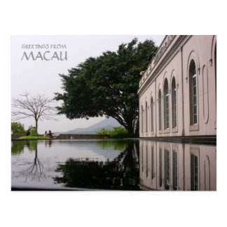 GREETINGS FROM MACAU POSTCARD