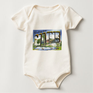 Greetings From Maine Baby Bodysuit