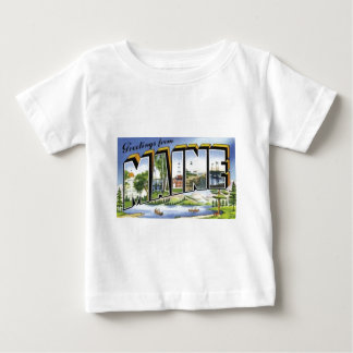 Greetings From Maine Baby T-Shirt