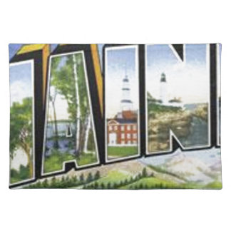 Greetings From Maine Placemat