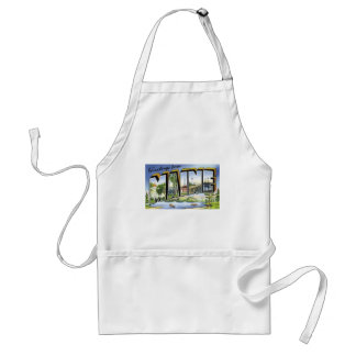 Greetings From Maine Standard Apron