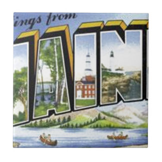 Greetings From Maine Tile