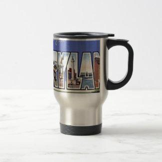 Greetings From Maryland Travel Mug