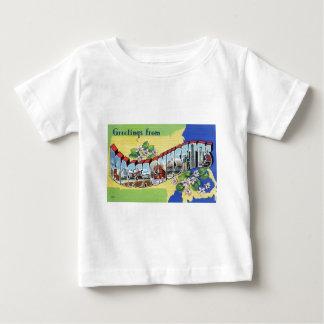 Greetings From Massachusetts Baby T-Shirt