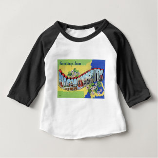 Greetings From Massachusetts Baby T-Shirt