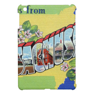 Greetings From Massachusetts iPad Mini Cover