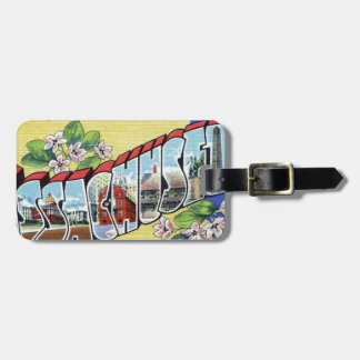 Greetings From Massachusetts Luggage Tag