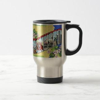 Greetings From Massachusetts Travel Mug