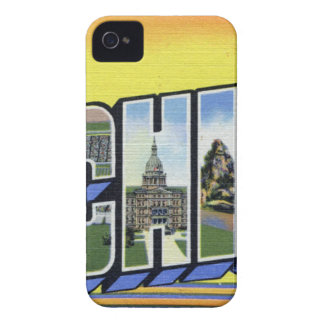 Greetings From Michigan iPhone 4 Case-Mate Case